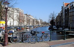 Amsterdam, les canaux.
